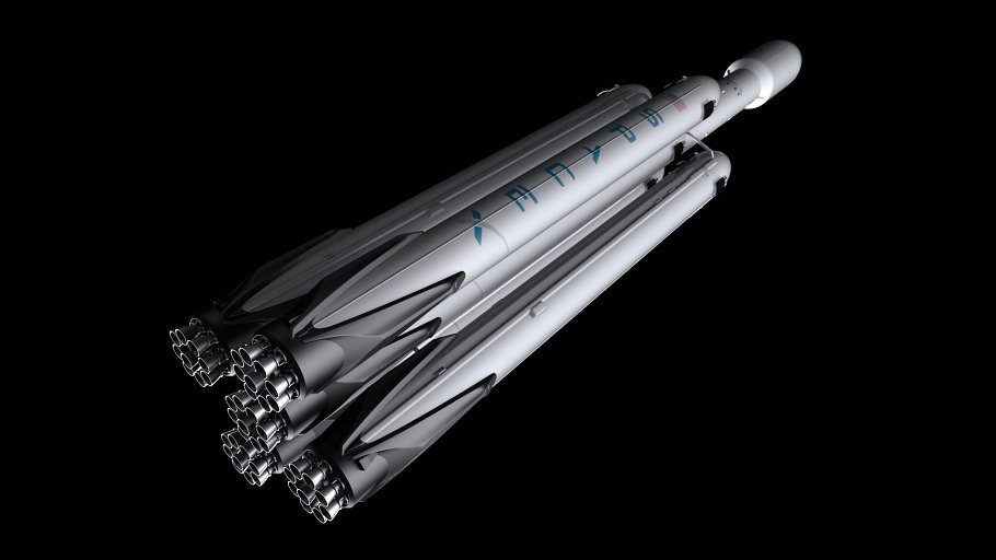 Falcon Super Heavy V1.2 in Vehicles - product preview 1