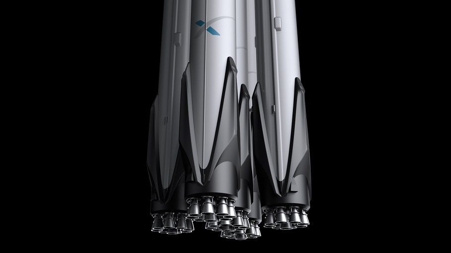 Falcon Super Heavy V1.2 in Vehicles - product preview 4