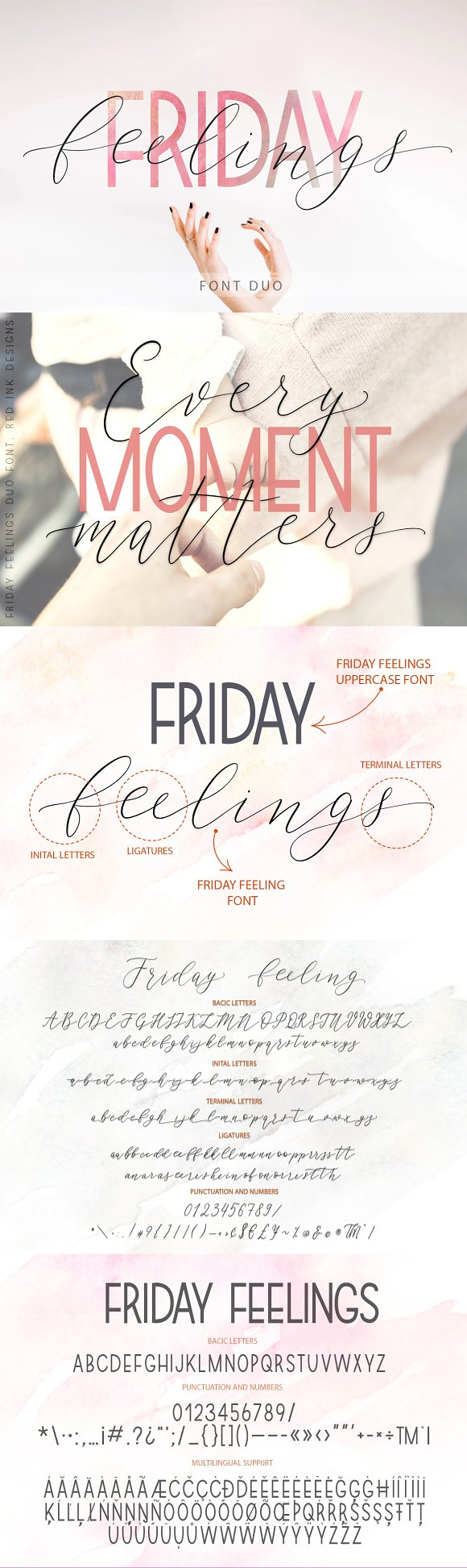 Friday Feelings Font Duo