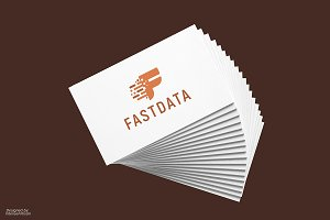 Fast Data - Letter F Logo