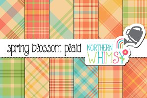 Spring Plaid Pattern