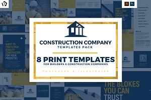 construction templates bundle