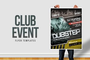 Club Event Flyer Templates