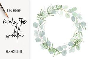Eucalyptus Wedding Wreath