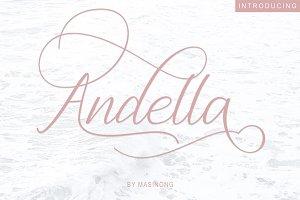 Andella Script | 30% Off