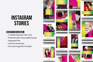 Instagram Stories Sale Template