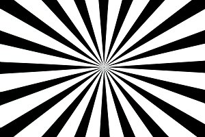 Black and white test pattern