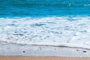 Blue sea and beach