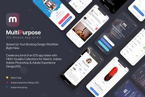 MultiPurpose iOS UI Kit