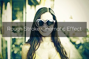Rough Stroke Cinematic Effect