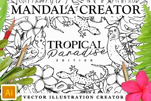 Tropical Paradise MandalaCreator Kit