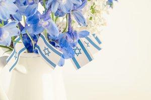 Blue Flower, White Flower, Israel
