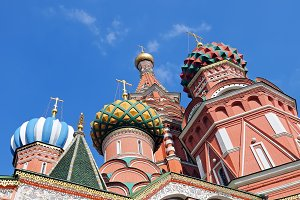 St. Basil's Cathedral at Red Square