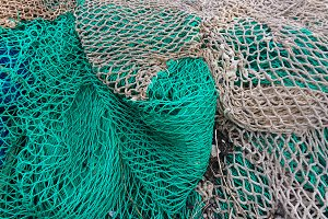 Sea. Fishing nets - 2