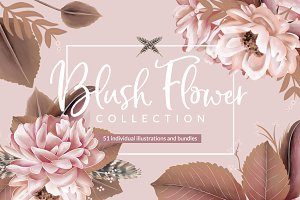 Blush Flower Collection