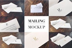 Mailing Mockup