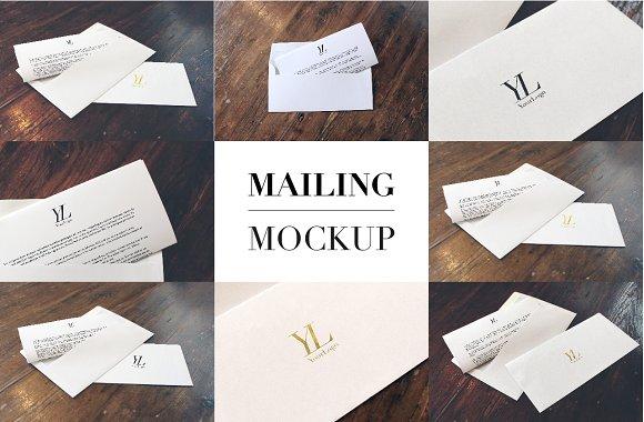Download Mailing Mockup