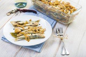 Sardines in marinade