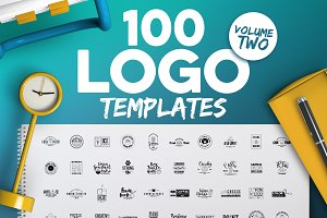 100 Fresh Logo Templates Vol.2
