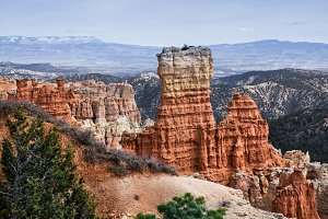Geological Features At Bryce Canyon
