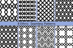 Boho Geomatric Seamless Pattern Set