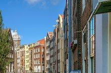 Amsterdam buildings. Netherlands
