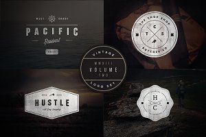 Vintage Logo Set:  Volume Two