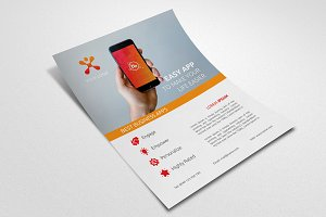 Mobile App Promotion Flyer