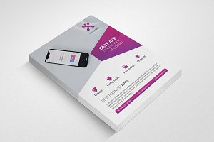Mobile App Promotion Flyer #005