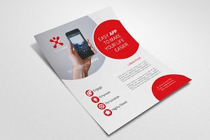 Mobile App Promotion Flyer #003