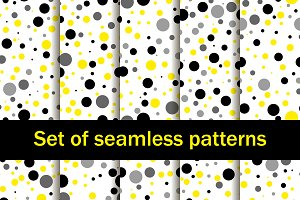 Seamless patterns with circles