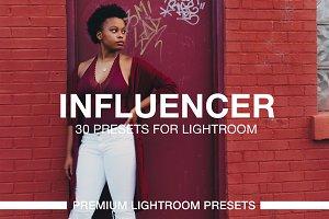 Influencer Lightroom Presets (30 LR)
