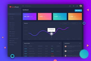 Dashboard UI Theme