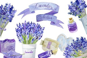 Lavender collection/Wedding set