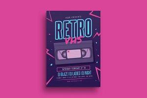 Retro VHS Flyer