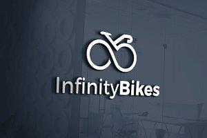 Infinity Bikes Logo Template