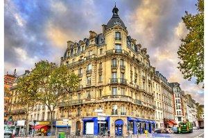 Typical buildings in Paris, France