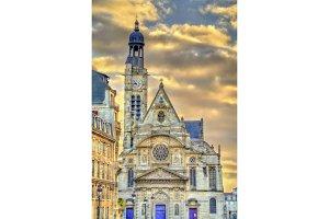 Saint Etienne du Mont Church in Paris, France