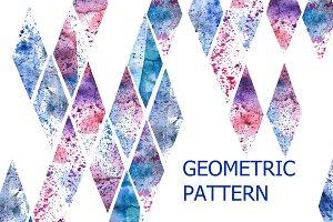 Romb pattern