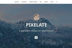 Pixelate Tumblr Theme
