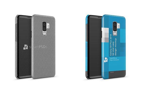 Samsung Galaxy S9 Plus 3D IMD Case