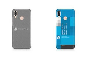 Huawei P20 Lite 3d IMD Case Mockup
