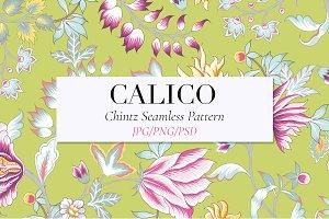 Calico, A seamless Chintz Pattern