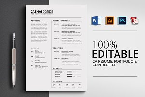 Microsoft Word CV Resume