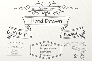 Hand Drawn Vintage Toolkit