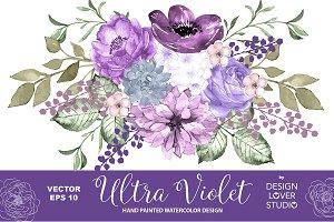 Vector Ultra Violet design