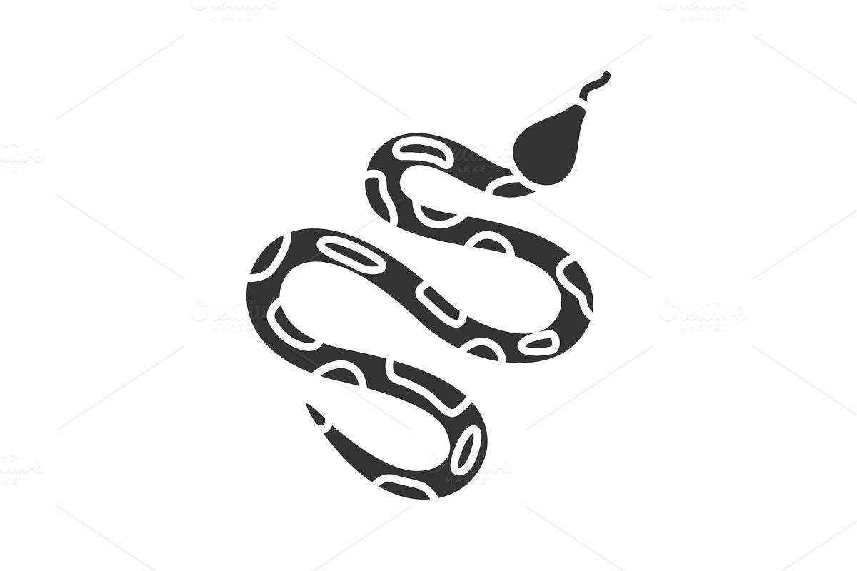 Python glyph icon