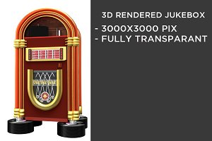 3D rendered Jukebox