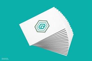 Hexagonal Cube Logotype