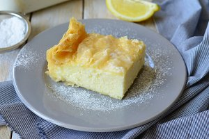 Greek Milk Cake Galaktobureko